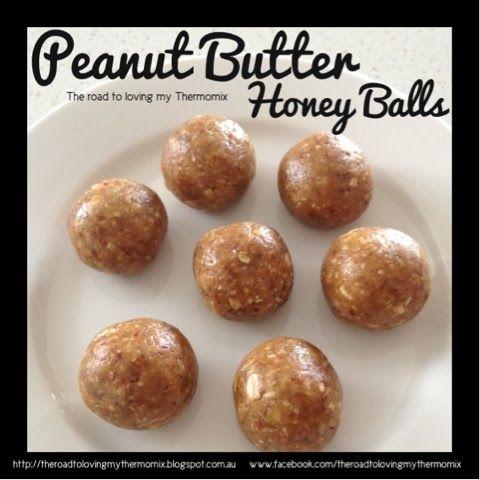 Peanut Butter Honey Balls