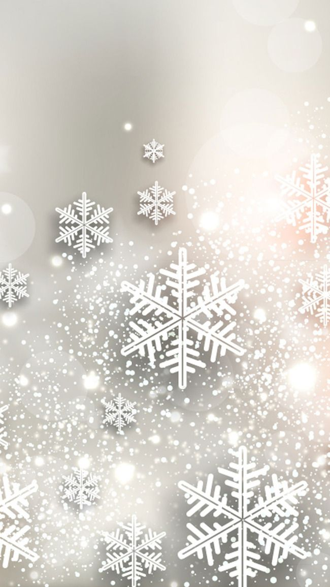 Christmas Snowflakes Winter Wallpaper Background In 2019