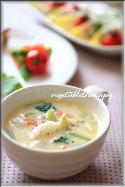 かぶの豆乳シチュー by つづみさん | レシピブログ - 料理ブログの ... かぶの豆乳シチュー レシピ. かぶの豆乳シチュー