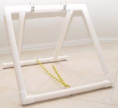 "Dog Agility Teeter Base - Board NOT Included. Made from 1 1/4"" Furniture Grade PVC. Great for training!"