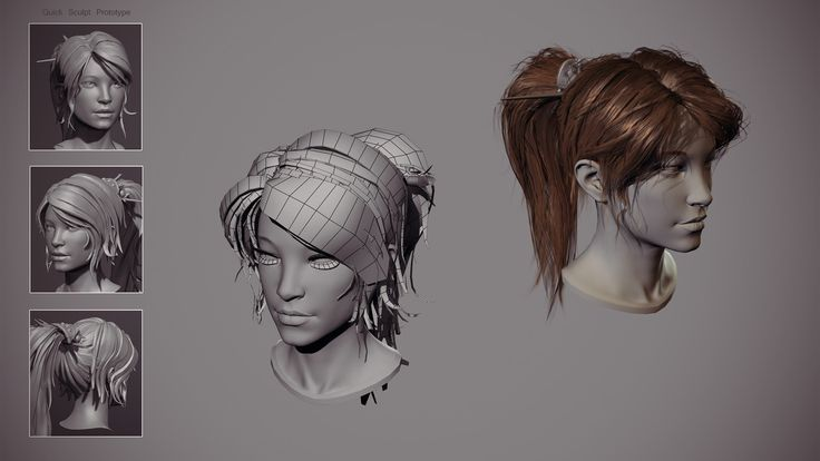 Fighter Within real time haircut, Alexandre Fiolka on ArtStation at https://www.artstation.com/artwork/xww9X