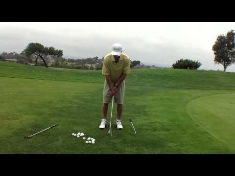 Golf Chip Shot #1 - The Putt Chip - YouTube