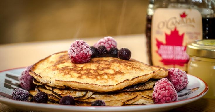 Cuisine-à-Vous: American pancakes met yoghurt en citroen
