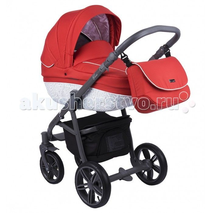 Коляска Roan Bass 2 в 1  Коляска универсальная 2 в 1 Roan Bass - модель от признанного польского производителя детских колясок. Интересный, необычный дизайн, богатая цветовая гамма – позволят быстро подобрать коляску как для мальчика, так и для девочки. Отличная маневренность, амортизация. Коляска универсальная Roan Bass (Роан Басс) имеет колеса различного диаметра, надувные, передние с вращением. Ручка управления регулируется под рост родителей.  Люлька коляски универсальной Roan Bass (Роан…
