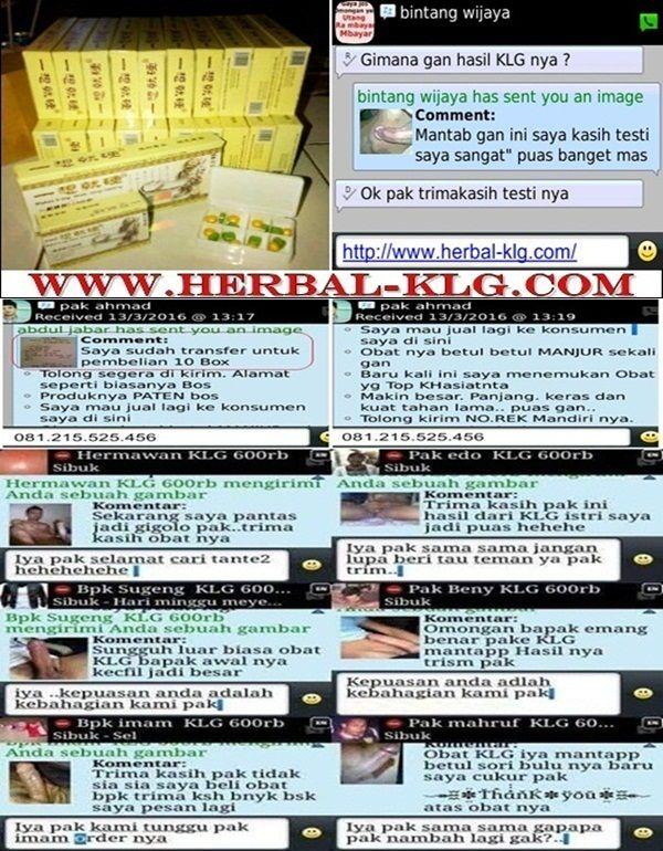 Testimoni KLG PILLS USA Obat Pembesar Penis Terbaik   http://www.herbal-klg.com/  #KLG #KLGPills #PembesarPenis #ObatHerbal #ObatPembesarPenis