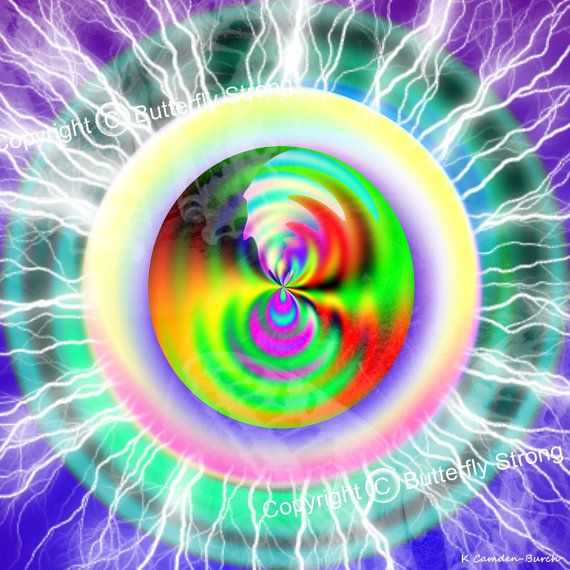 Dimensional Shift  Print created intuitively by KaiciCodedArt, $16.95