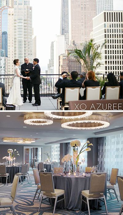 Chicago Wedding Venue: The Gwen, a Luxury Collection Hotel, Chicago