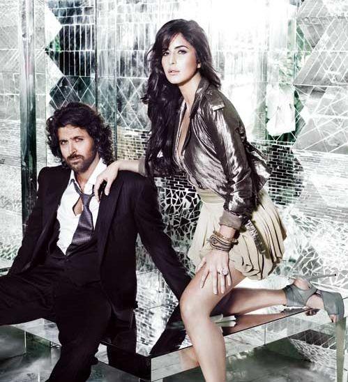 Katrina Kaif and Hrithik Roshan in Harper's Bazaar