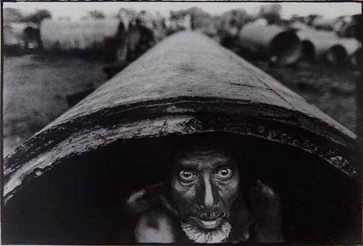 1971 © Raghu Rai - Bangladeshi refugee in relief camp in India.