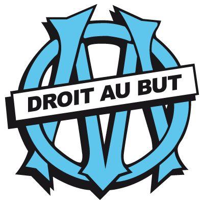 Olympique de Marseille badge.