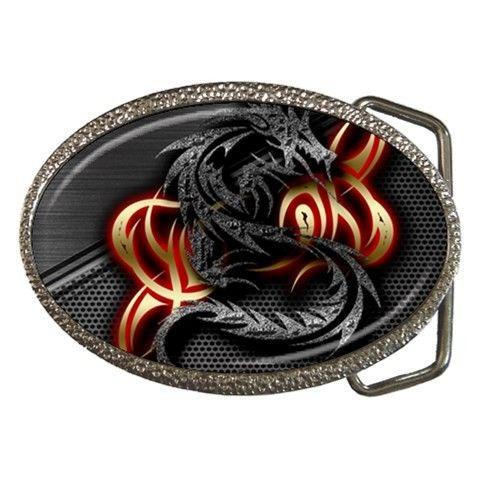 3D Dragon Belt Buckle
