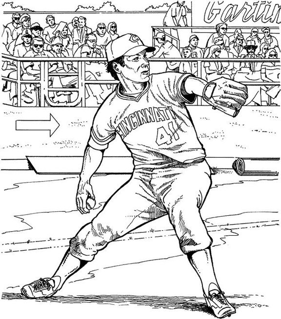baseball team coloring pages printable - photo#21