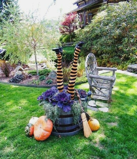 Halloween wicked witch garden pictures for ideas pinterest