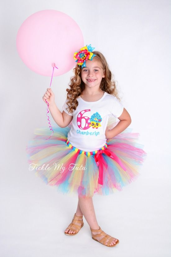 Shopkins Cupcake Queen Birthday Tutu Outfit...www.ticklemytutu.com