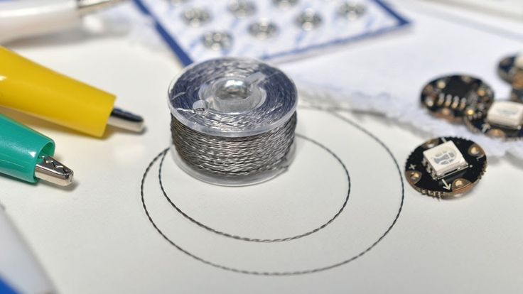 Conductive Thread - 10 Tips. Useful tips in this video...