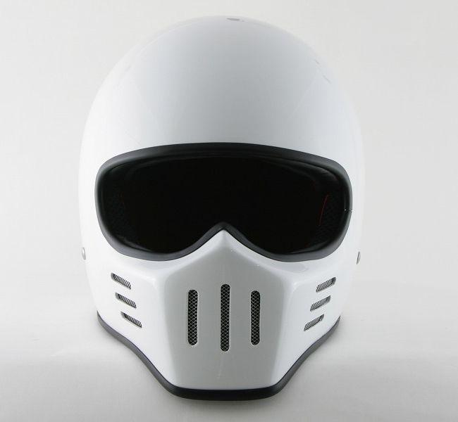 I am totally going with a full face helmet TT & Company : Thompson - 01 Helmet [W-793-003]