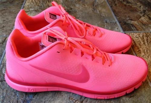 all pink nike free run