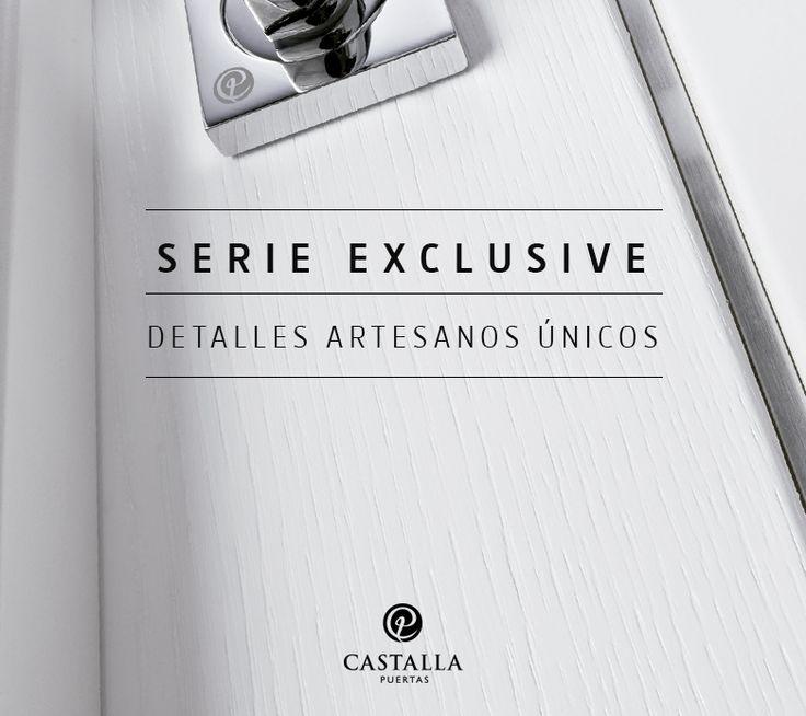 Puertas de Interior Serie Exclusive de Puertas Castalla | Puertas con detalles artesanos únicos