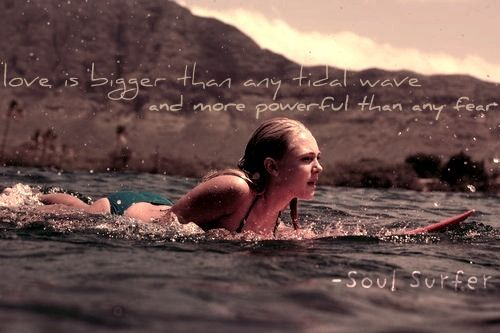 soul surfer # bethany hamilton # quote # typography