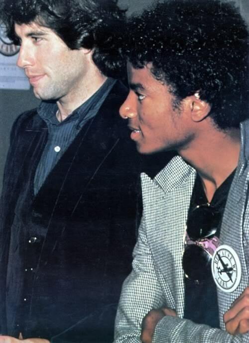 John Travolta and Michael Jackson