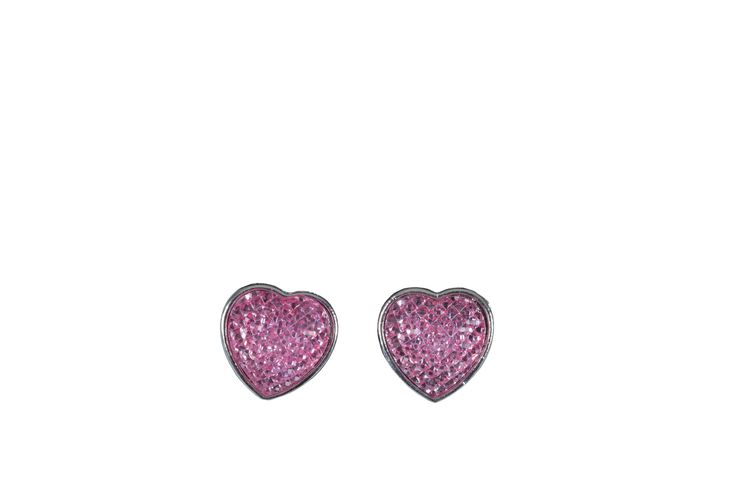 Edgars Pink Heart Earings