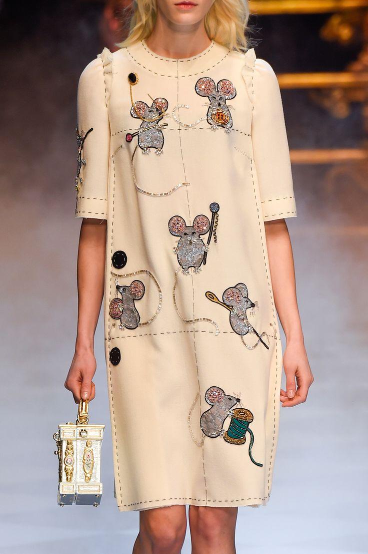 Dolce & Gabbana at Milan Fashion Week Fall 2016 - Livingly