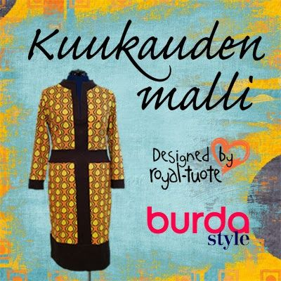 Burda, Kuukauden Malli tammikuu 2014