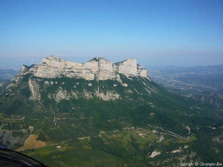 Photo aérienne de : Les 3 becs - Drôme (26)