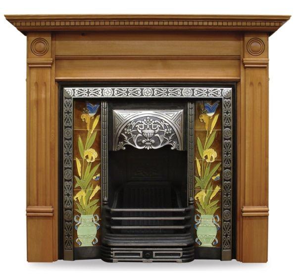 Aladdin Cast Iron Fireplace Insert, Aladdin range.