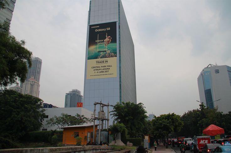 LED Display, Jakarta Indonesia. Size 31m X 15m