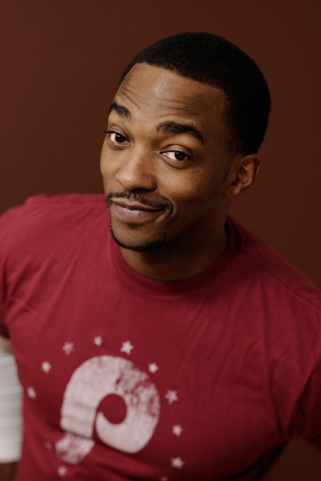 Anthony Mackie!! Only reason I'm going to see Captain America!! Lol