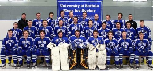 UB Hockey is headed to The ACHA Men's Division I National Championships for the first time in over 10 years. UB Hockey ended the regular season at #17 in the nation to earn a spot in The ACHA Men's Division I National Championships from March 5th – 10th.  They will take on #16 University of Colorado at 5pm on Thursday, March 5th and they need your help getting to Nationals.  http://www.ubhockey.myevent.com/