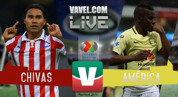 Chivas vs América en vivo AHORA (0-0)