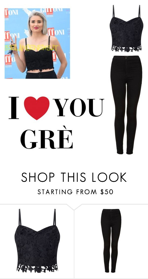 """""""Greta Menchi.     Famous italian youtuber"""" by ermy9 ❤ liked on Polyvore featuring Lipsy and Topshop"""