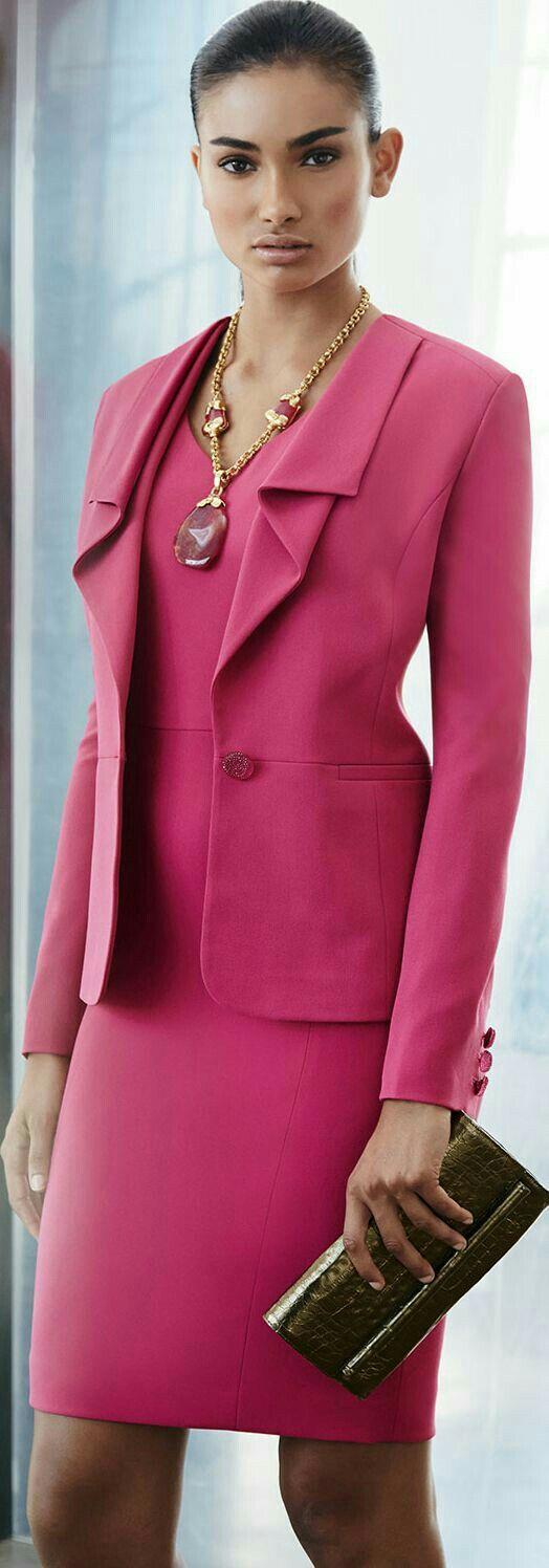 Mejores 83 imágenes de Business Lady en Pinterest | Desfile de moda ...