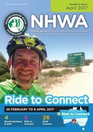 NHW Australasia April 2017  The official journal of Neighbourhood Watch Australasia. April 2017 edition.