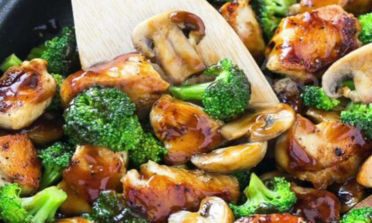 Et si vous testiez ce poulet  au brocoli pour le souper? Vous allez viser en plein dans le mille!