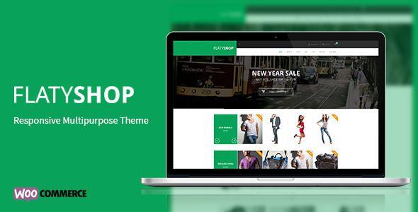 FlatyShop - Responsive Multipurpose WP Theme