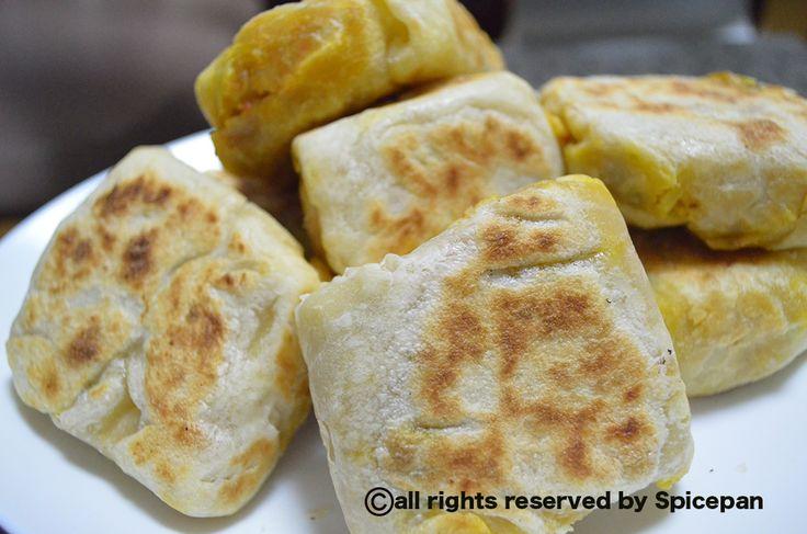 Vegitable roti(srilankan food)  http://spicepan.com.nu/