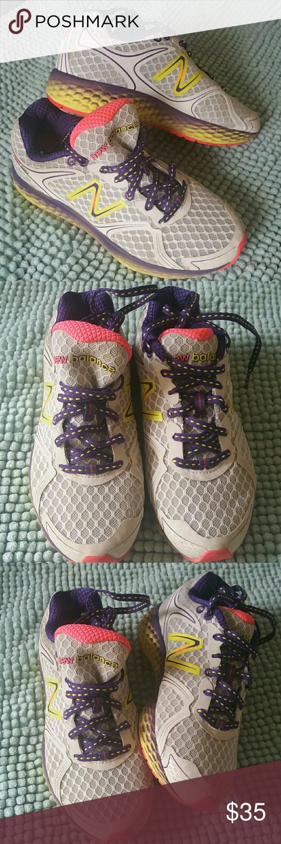 PRICE DROP! NEW BALANCE RUNNING SNEAKERS BIG GIRLS New Balance Fresh Foam 980 Shoes Running Athletic Sneakers size 5.In Excellent condition. From a clean, pet and smoke free home. No shoe box. New Balance Shoes Sneakers