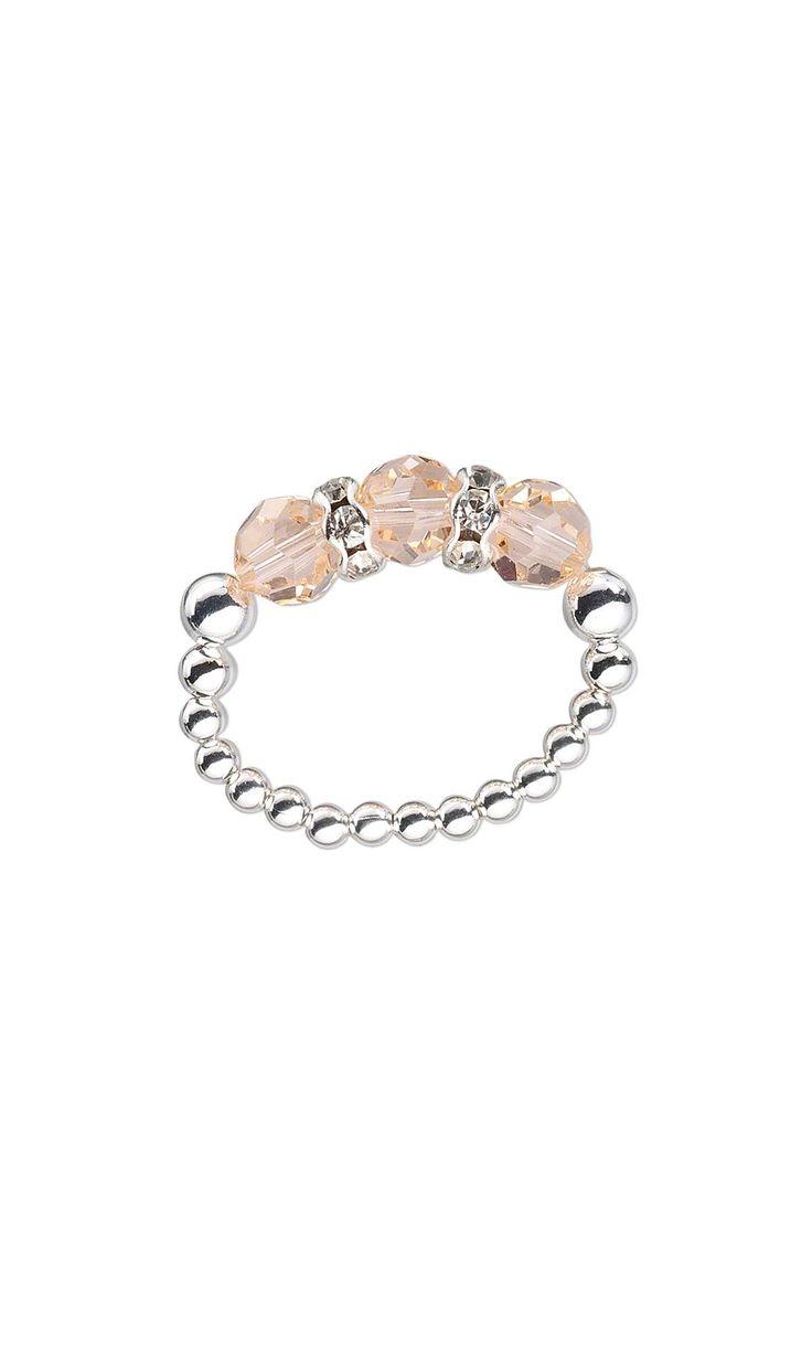 Jewelry Design – Ring with Swarovski Crystal Beads…