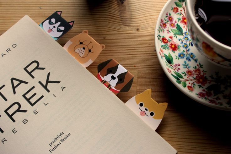 Bookmarks dog. Free pattern/paper/books/handmade/dog/japan style