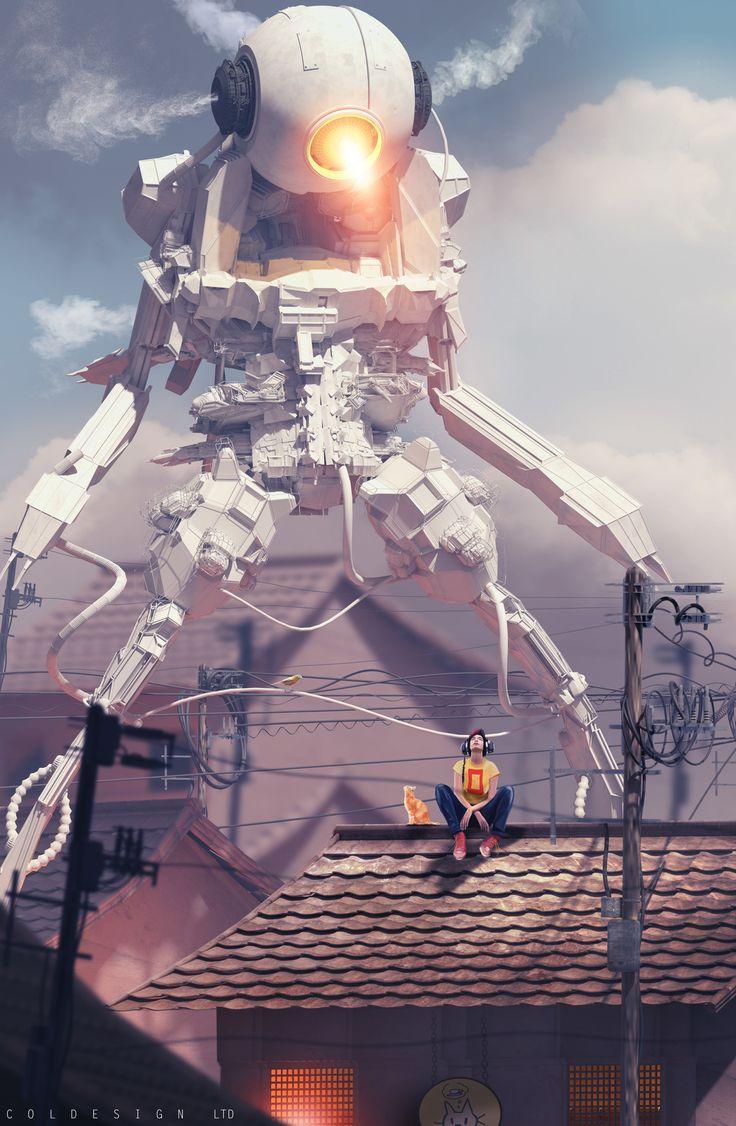 robot science fiction concept - photo #21