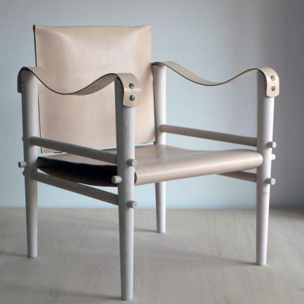 How To Incorporate Leather Décor Into Your Home | The Zoe Report Virginie Lobrot Safari Chairs