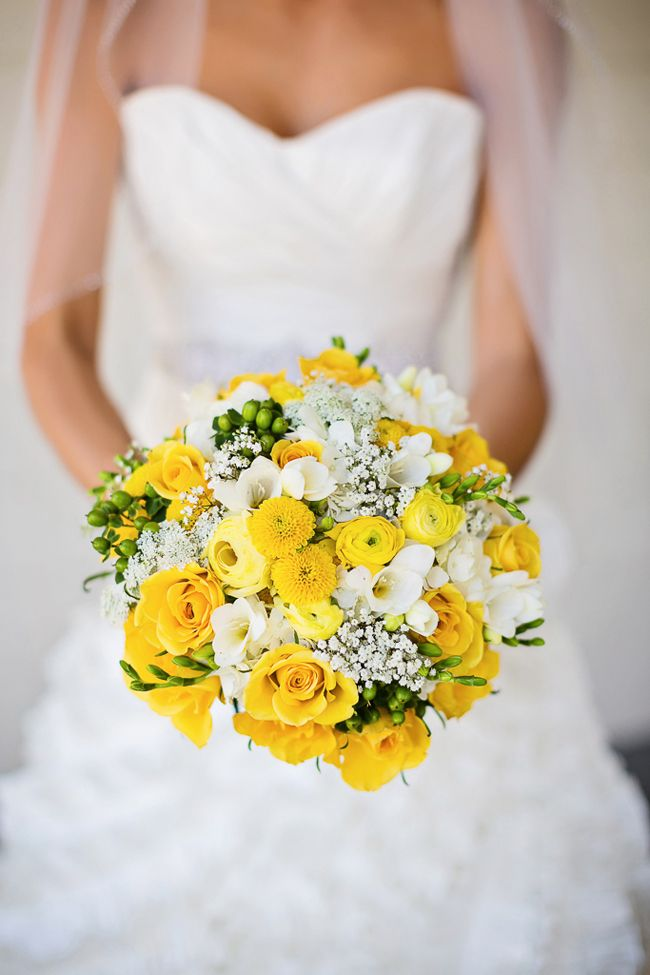 A Yellow & Navy Military Wedding at Camarillo Ranch | Fab You Bliss