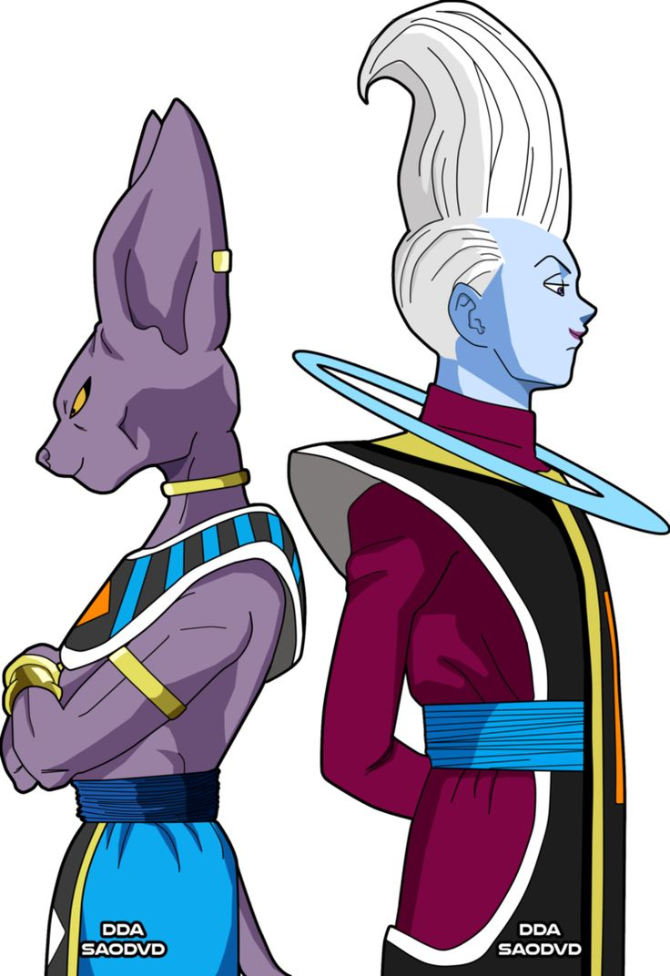 Edit: Made Whis taller. My 3 most favourite DBZ characters together. Because I love them. Oh and Whis is eating strawberry ice cream with chocolate sauce. Characters (c) Akira Toriyama