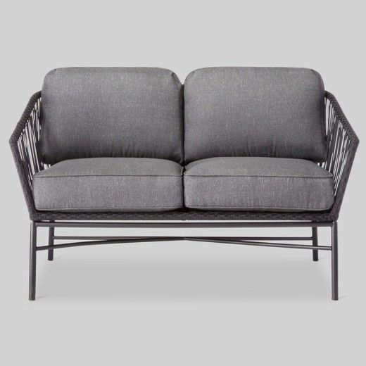• 3M Scotchgard treated cushions<br>• Rust-resistant steel frame<br>• Includes seat and back cushions<br>• Approximately 30 minutes of assembly time<br>• Compatible with the Threshold Loveseat Cover<br><br>Comfort, style and versatility never looked so good. The Standish Loveseat from Threshold is the modern patio update you've been looking for. If you love to spend time in your outdoor space, you&r...
