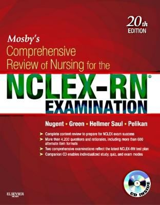17 best nursing materials at epl images on pinterest being a nurse mosbys comprehensive review of nursing for the nclex rn exam content review is presented fandeluxe Images