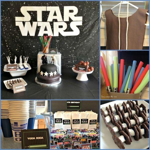 Star Wars / Jedi Training Academy Birthday Party Ideas | Photo 5 of 22 | Catch My Party