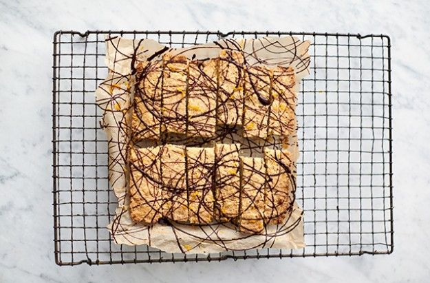 Jamie Oliver 5 ingredients quick and easy recipes chocolate orange shortbread